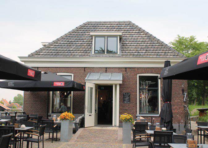 Voorkant Restaurant Aan de gracht Elburg