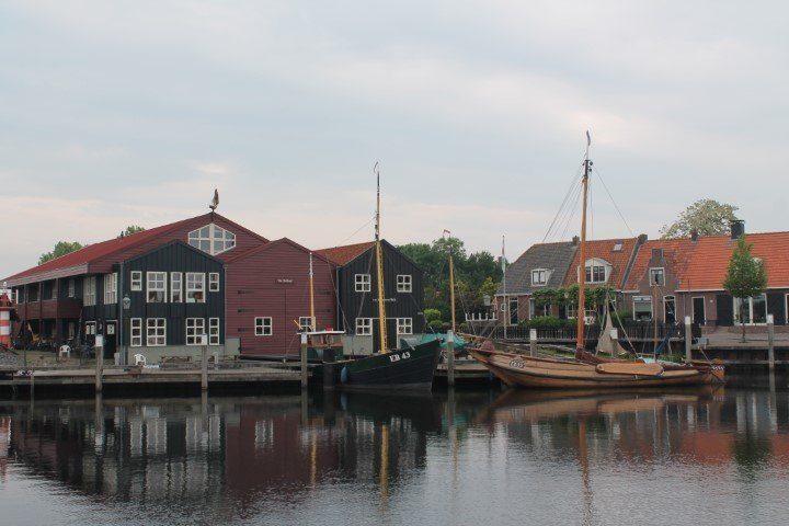 Botterwerf en museum Elburg