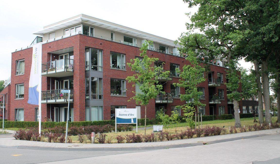 Appartementencomplex met zorgvoorziening