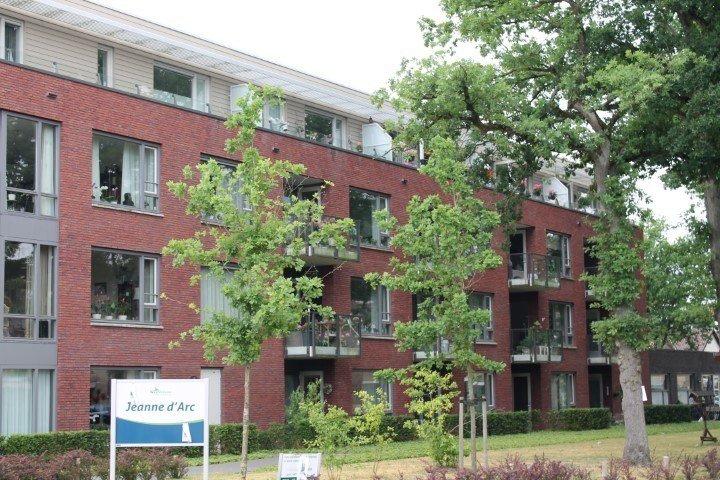 Zijkant Appartementencomplex