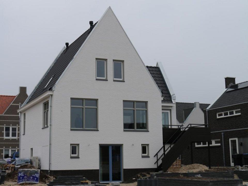 Moderne duurzame woning.