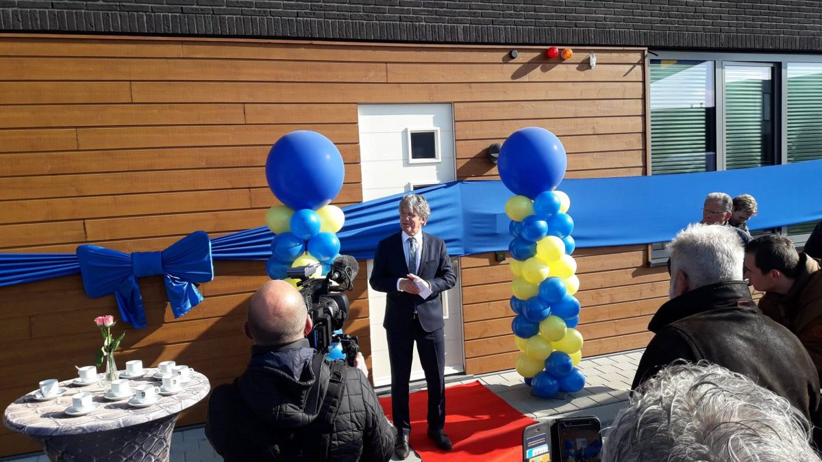 Opening gemeentewerf Bunschoten