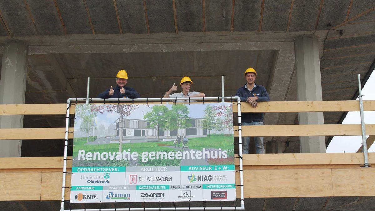 Renovatie gemeentehuis Oldebroek