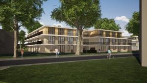 Nieuwbouw maatschappelijke woonvoorziening Zwolle